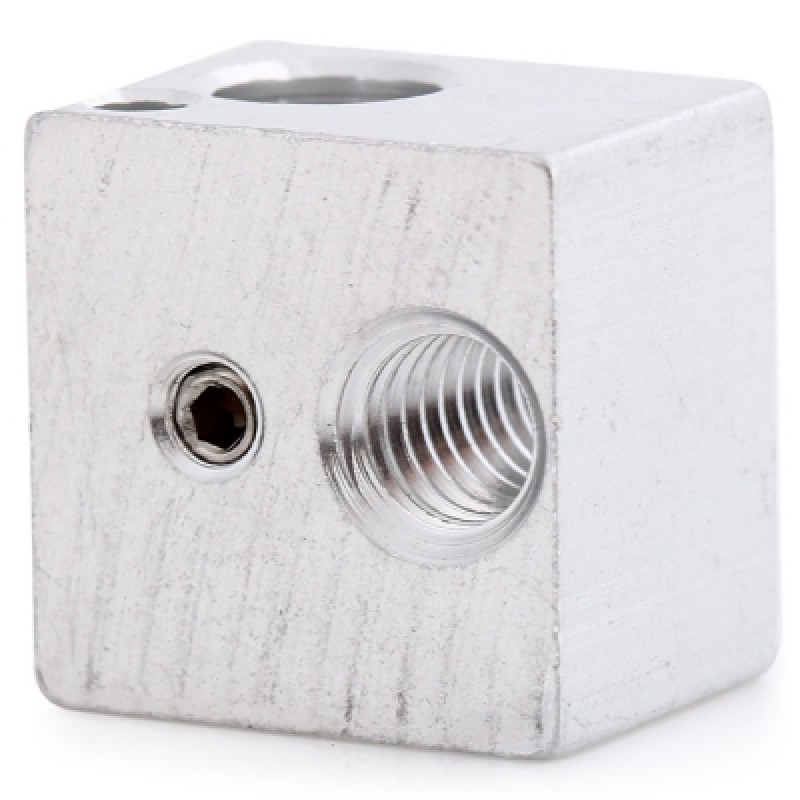Heating Block for 3D Printer Extruder